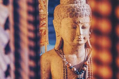 Stone Carved Buddha Statue