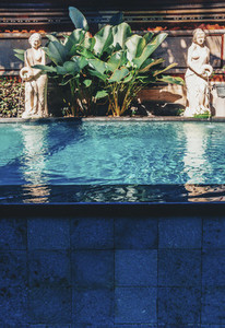 Tropical pool at Bali