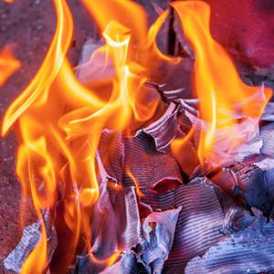 Fire Burning