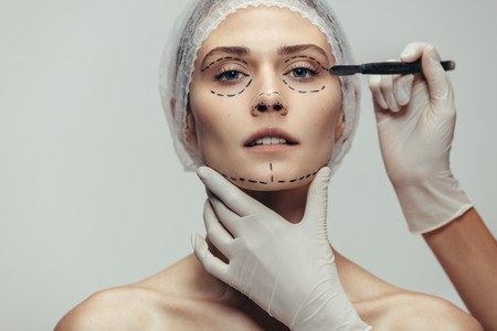 Anti aging treatment and face lift