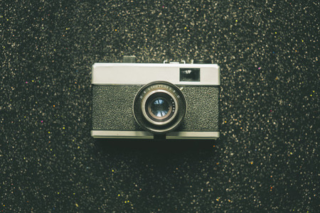 Old  Retro  Analog Camera
