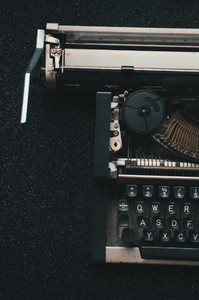 Old Retro Typewriter