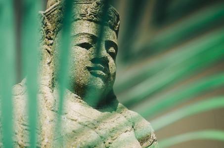 Deity Stone Statue