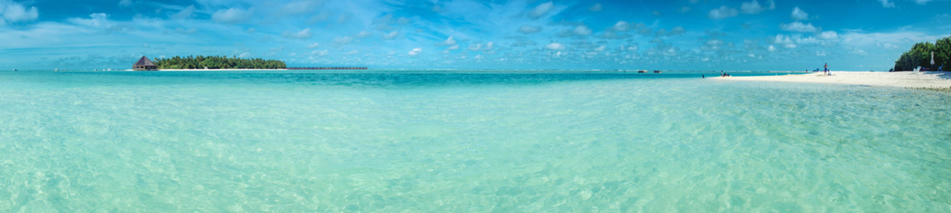 Paradies beach panorama