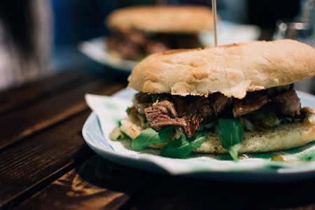 Argentinian steak sandwich