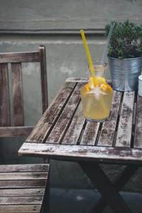 Cooling orange lemonade