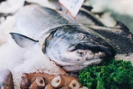 Big fish at fish market