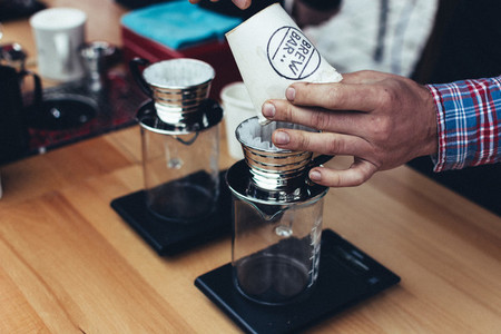 Brewing filter coffee
