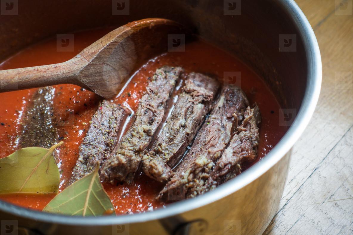 Cooking tender beef