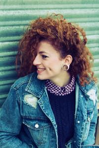 Teen redhead woman