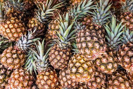 Dozens of pineapples