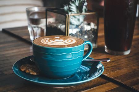 Dreamy flatwhite coffee