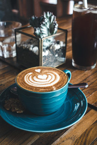 Dreamy flatwhite coffee