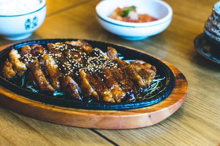 Korean crispy duck with honey sa