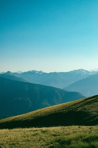View of mountain range 01