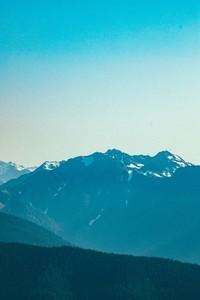 View of mountain range 02