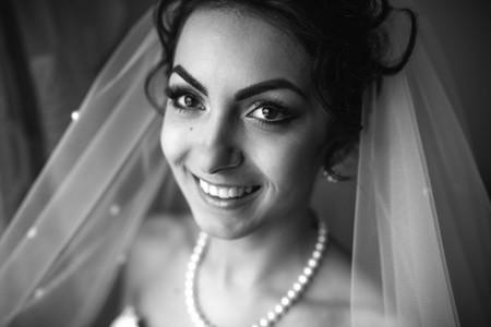 Preparation of adorable bride
