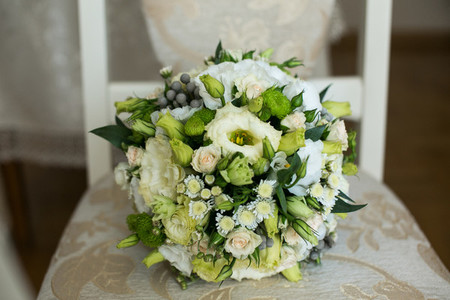 Very beautiful wedding bouquet