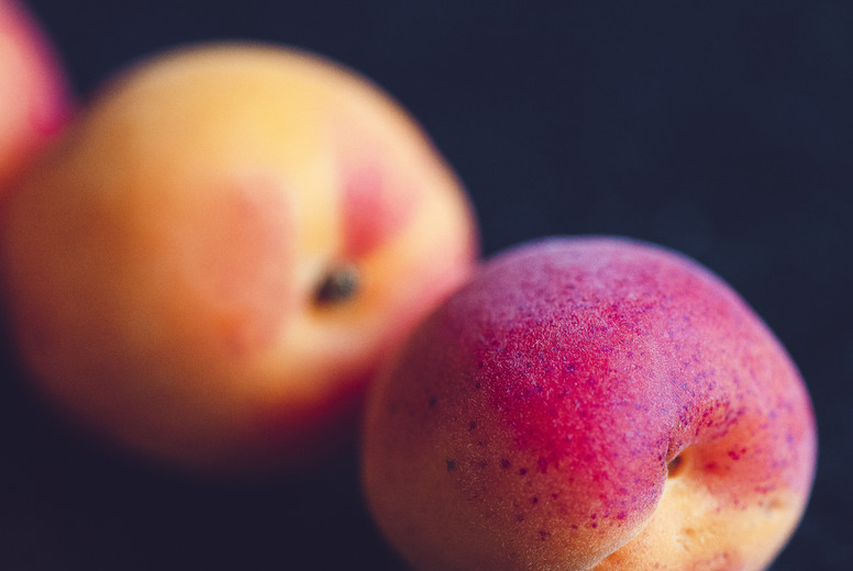 fresh bio fruits apricot