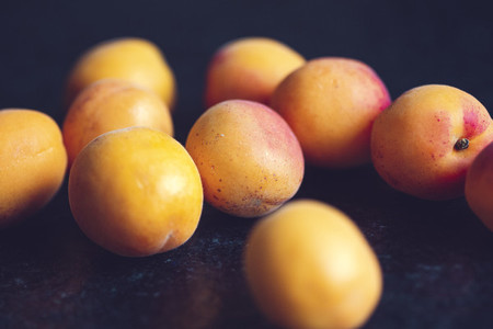 fresh bio fruits apricot