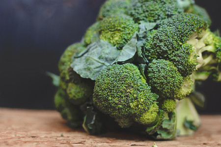 Wonderful healthy broccoli