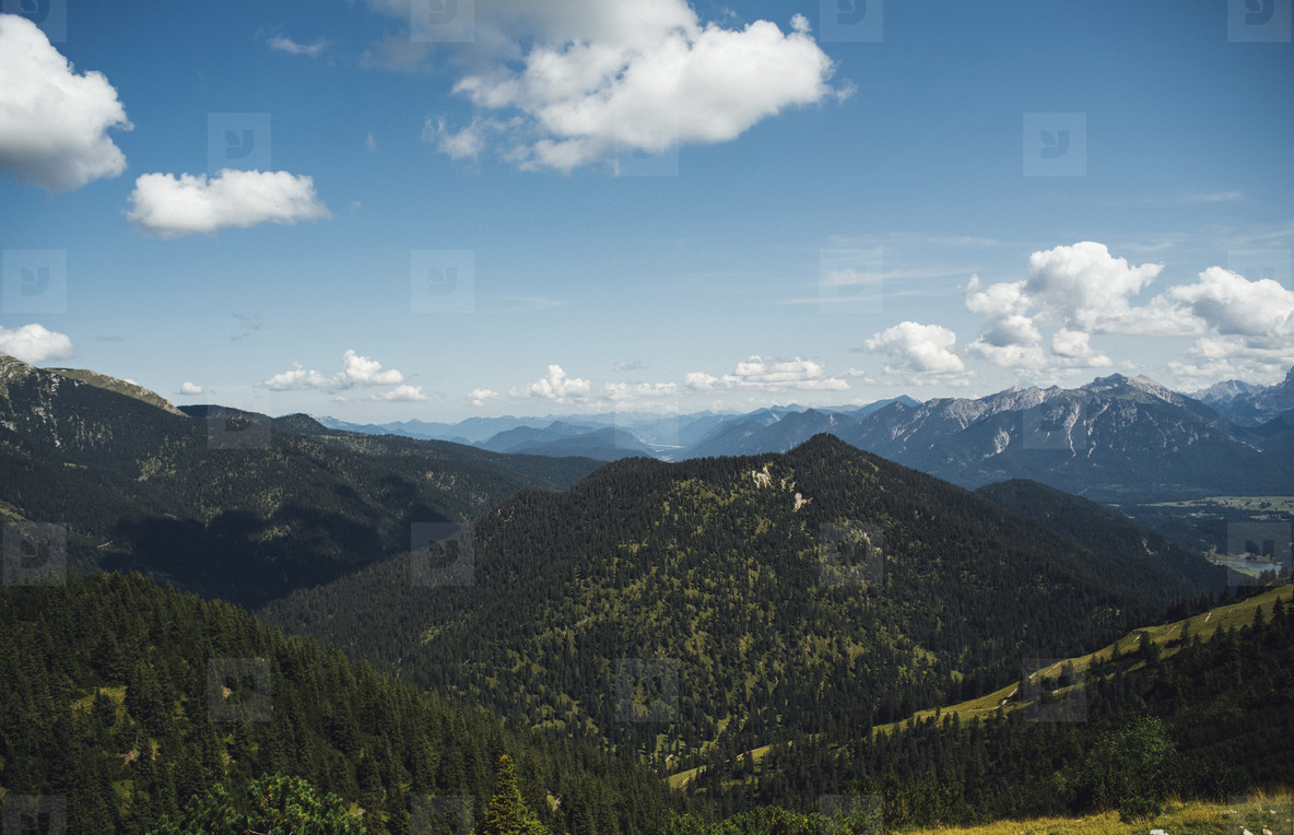 mountain hiking expedition peak view