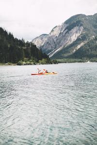 glacier lake plansee