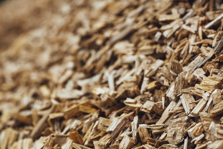 wood chips firewood