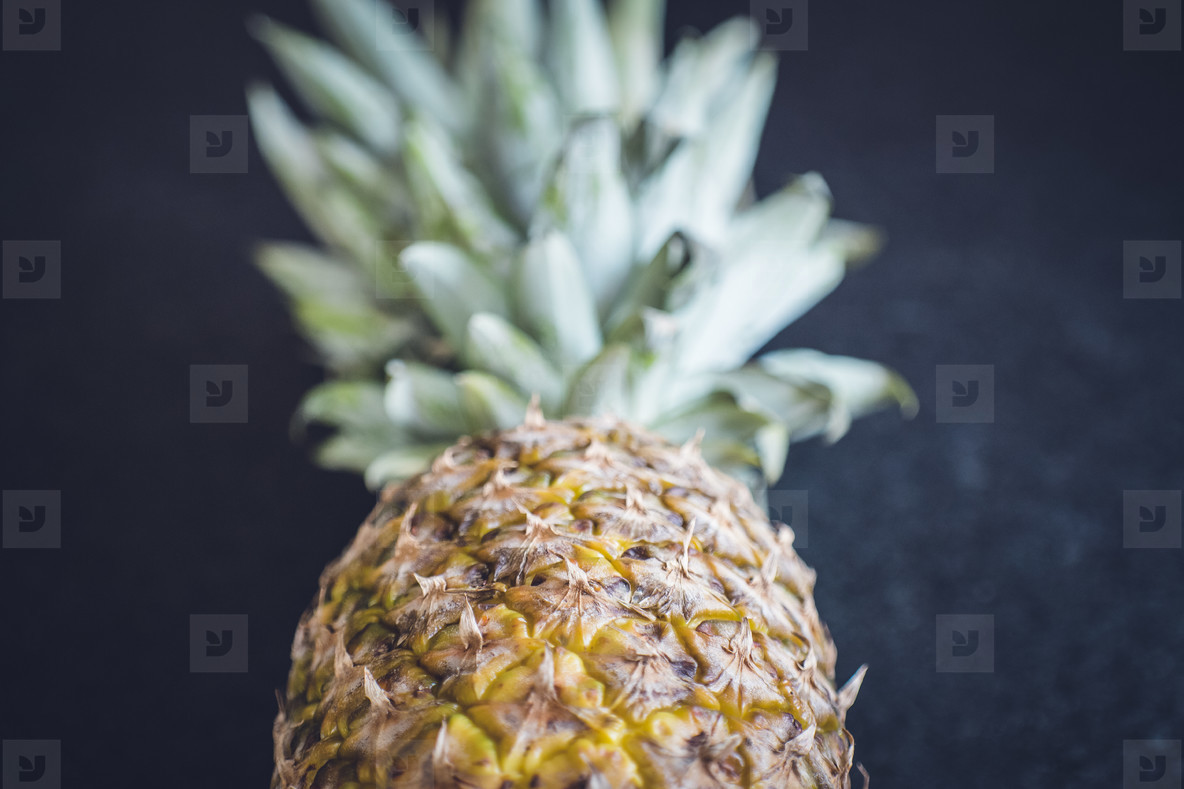 fresh bio fruits pineapple