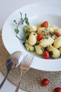 Gnocchi with cherry tomato