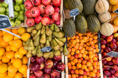 Local fresh fruits for sale