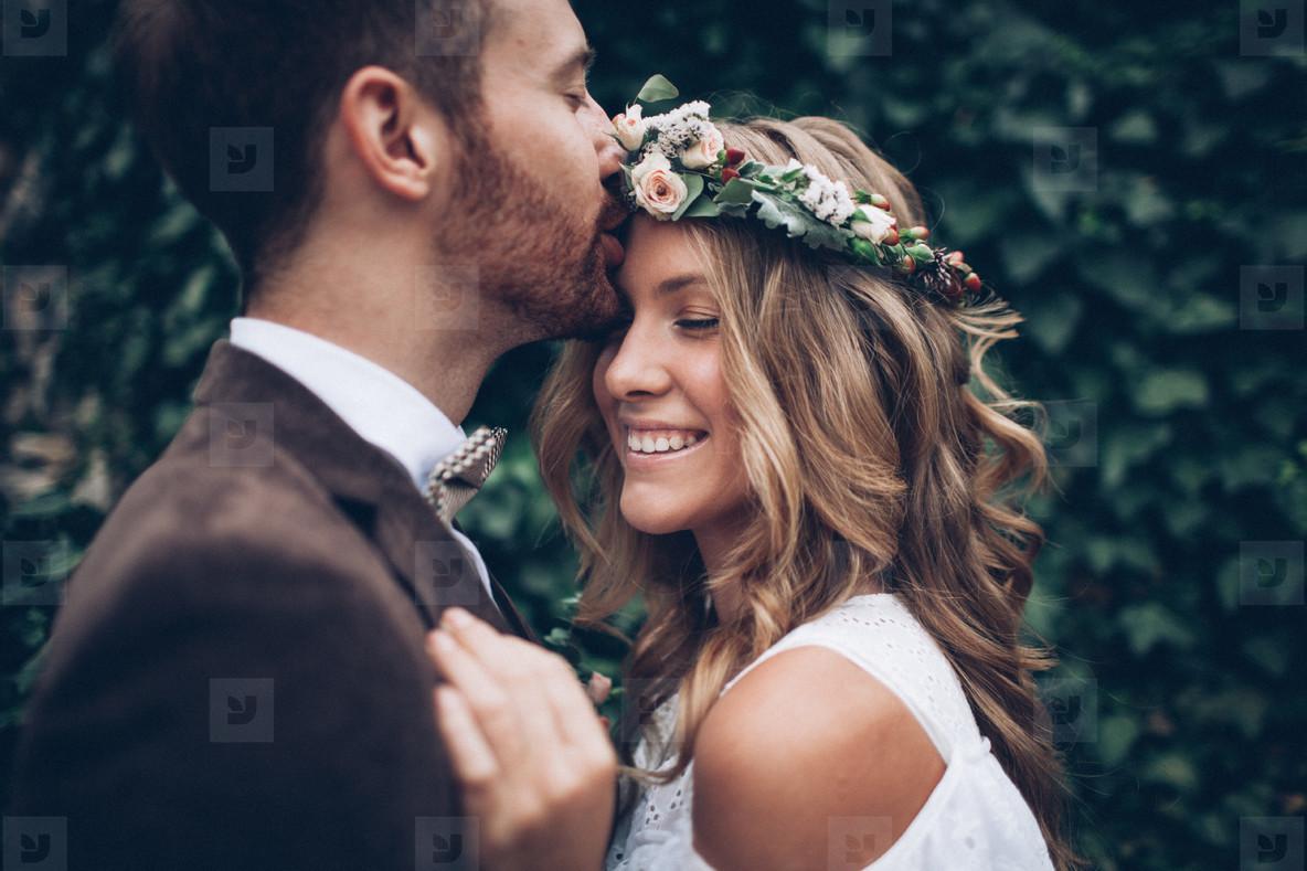 Amazing wedding couple