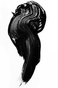 Black Paint Stroke