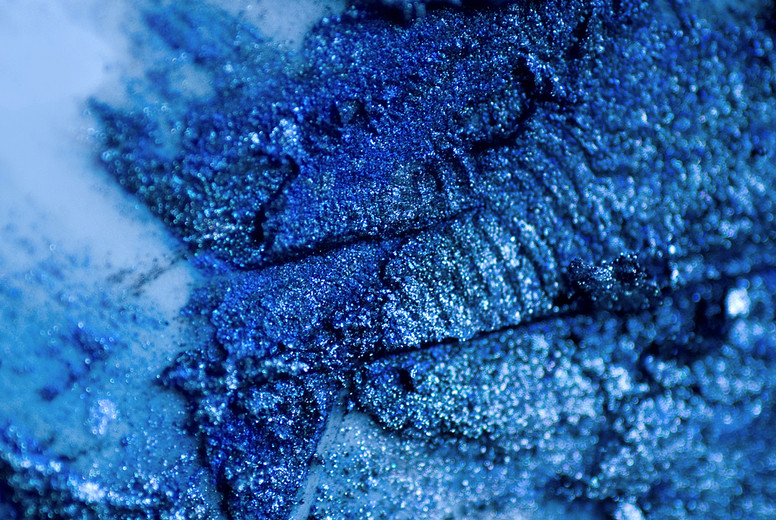 Blue Makeup CloseUp