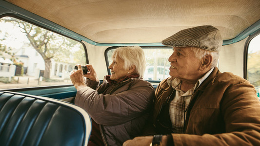 Capturing memories of their journey