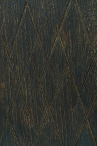 Dark toned natural oak wood texture with notches