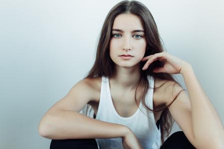 young beautiful girl