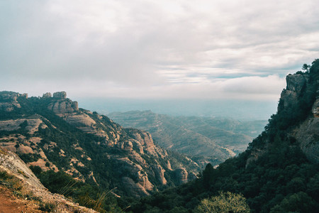 landscape of catalonia mountains