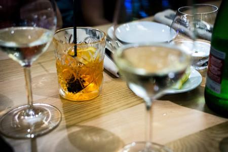 Martini with orange
