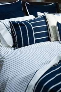 Navy Bedding