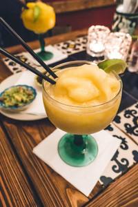 Mexican lime margarita