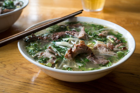 Mouthwatering Vietnamese soup