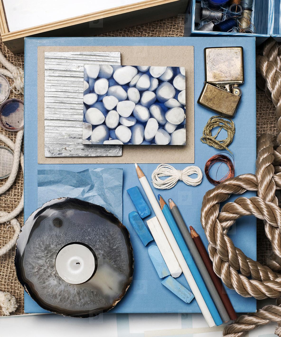 Blue Storyboard