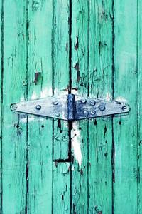 Teal Door
