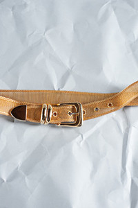Gold Vintage Wire Belt