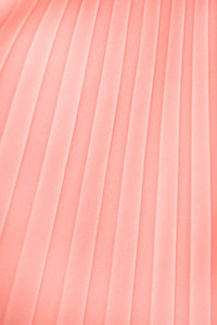 Peach Pleats