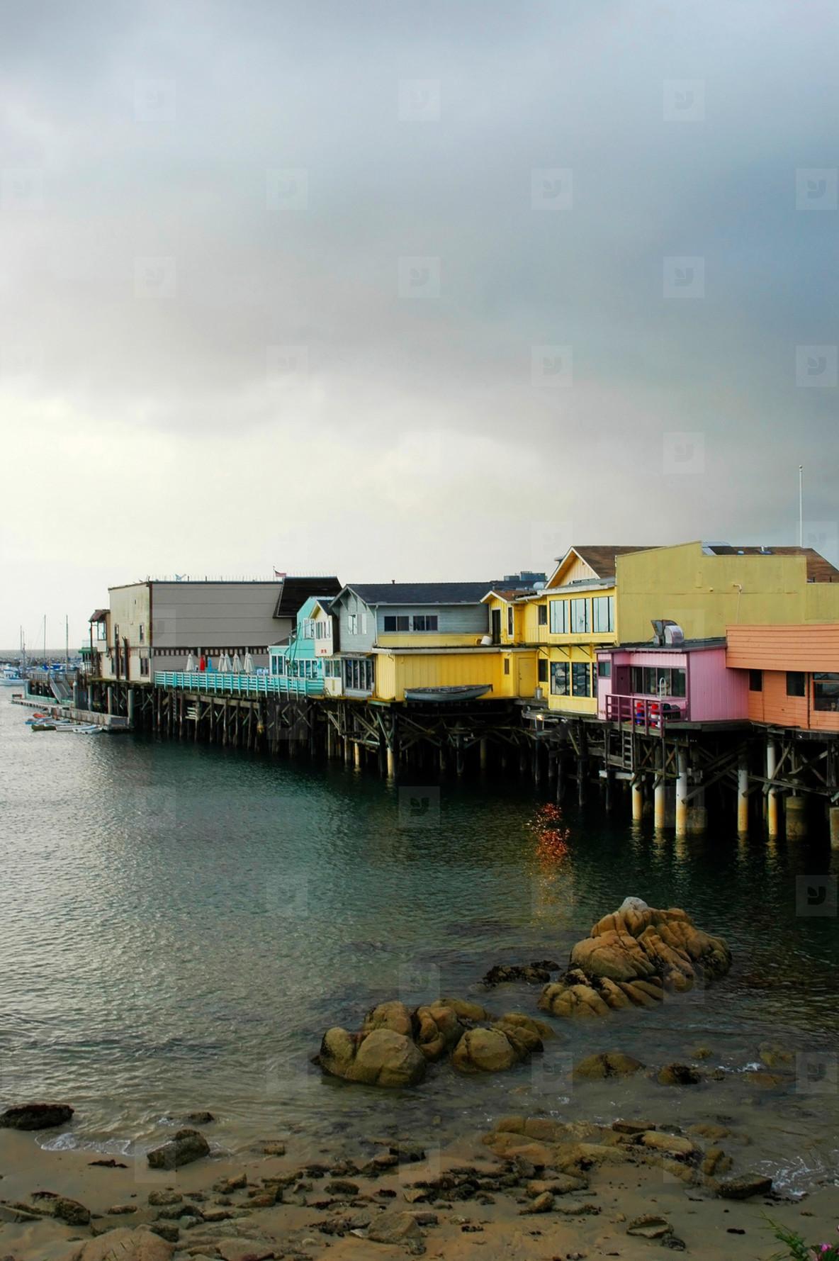 Colorful Pier