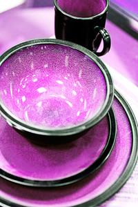 Lavender Dishes