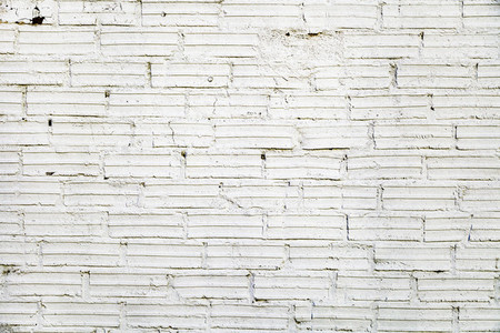 Part of a withe brick wall  for background or texture