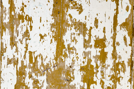 Close up brown and white wooden door texture